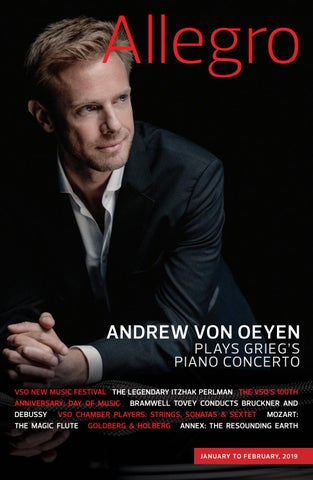 18/19 VSO Allegro Issue #3 by Vancouver Symphony - issuu
