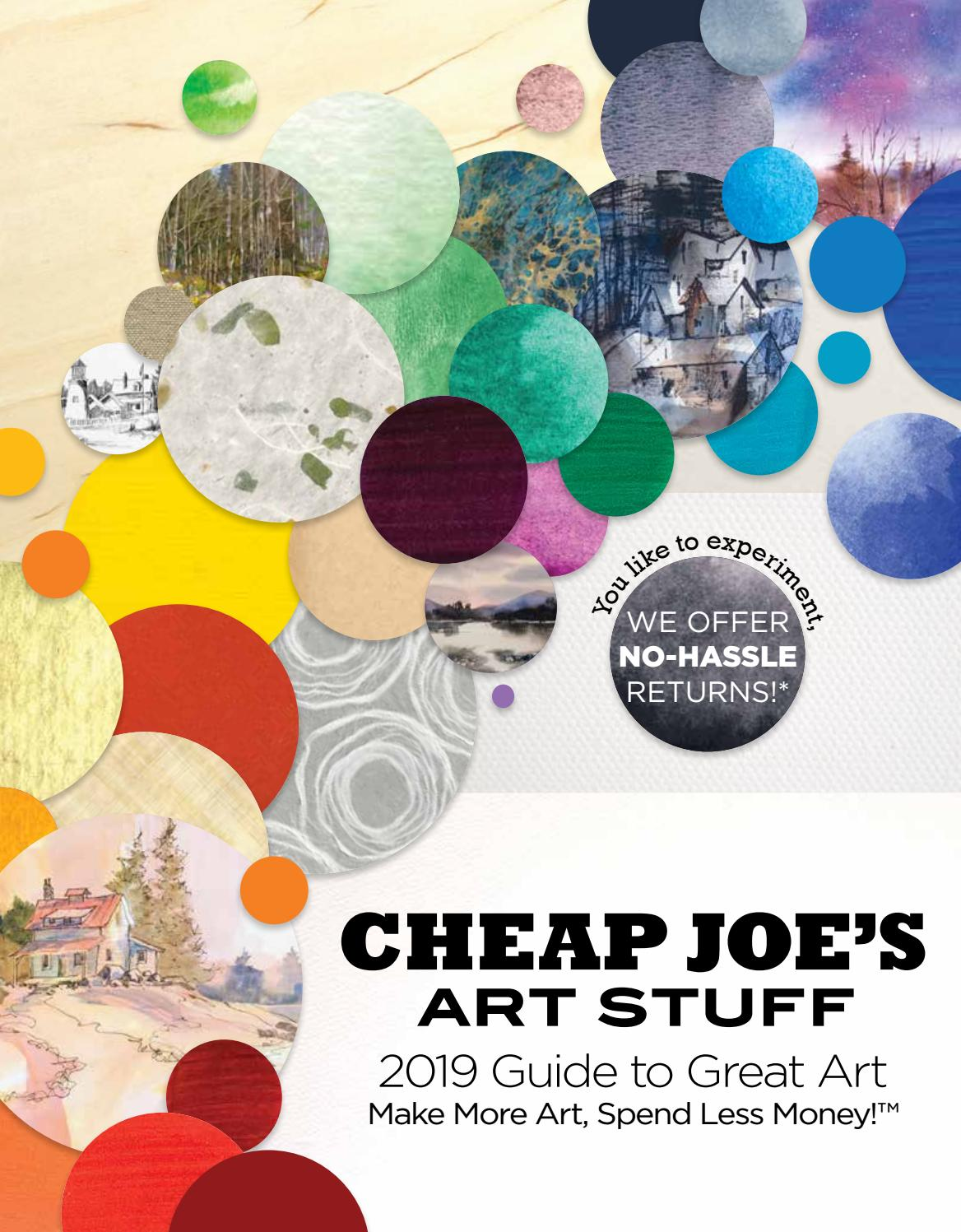 Cheap Joe's Art Stuff 2019 Guide to Great Art by Cheap Joe's