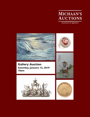 January 2019 Gallery Auction catalog by Michaan\'s Auctions - issuu