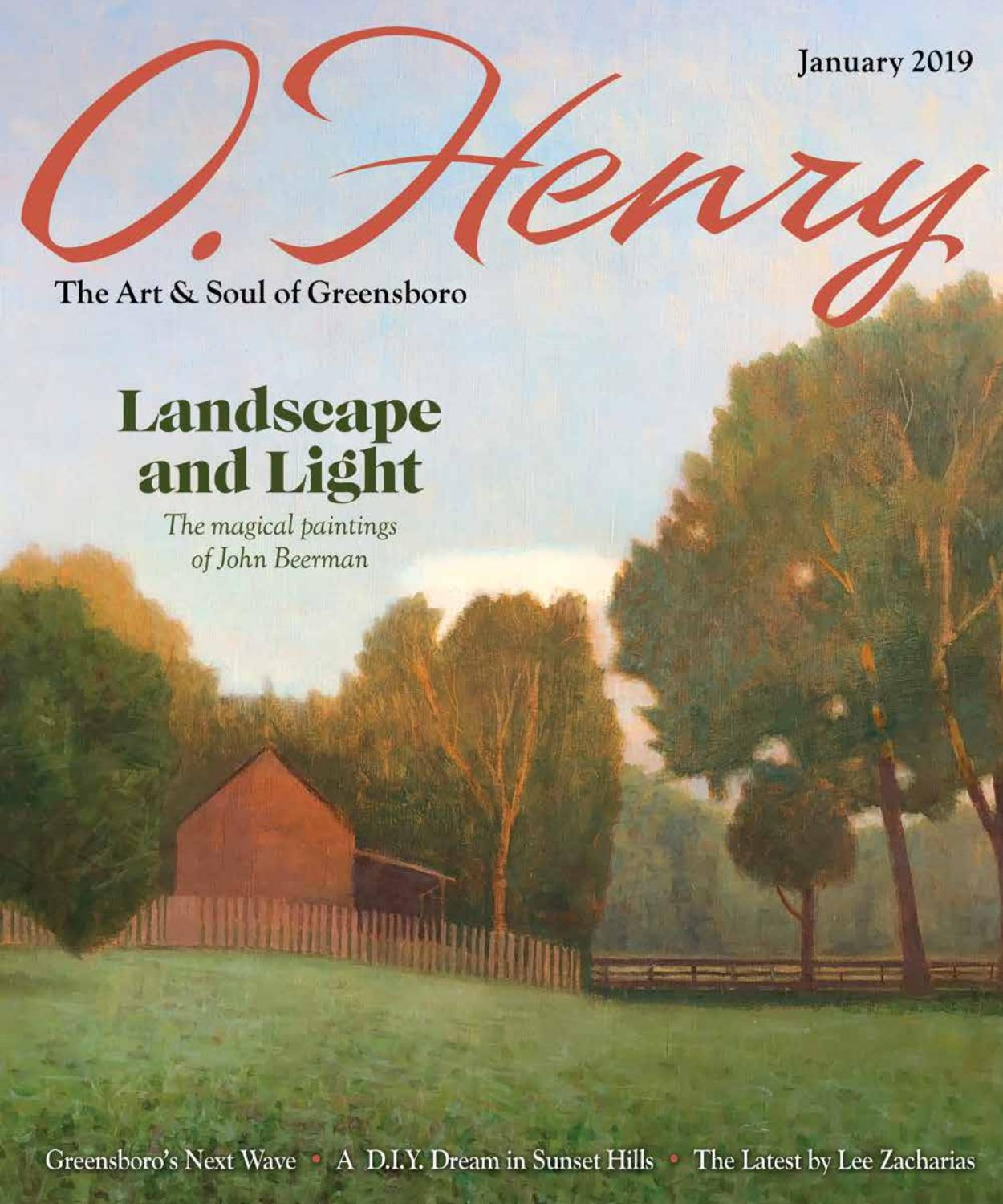 January O Henry 2019 by O Henry magazine - issuu