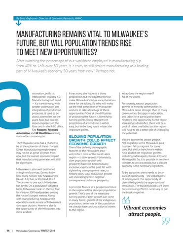 Page 14 of Manufacturing remains vital to Milwaukee's future, but will population trends rise  to meet new opportunities?