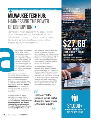 Page 18 of Milwaukee tech hub: harnessing the power of disruption