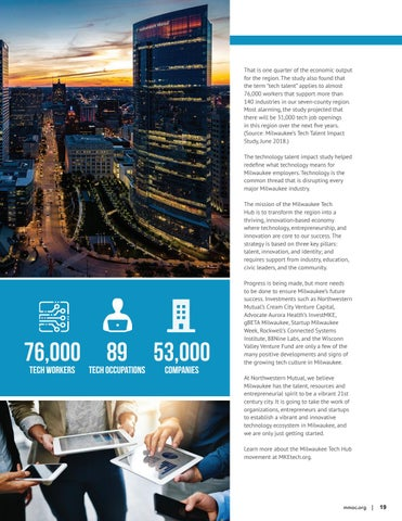 Page 19 of Milwaukee tech hub: harnessing the power of disruption