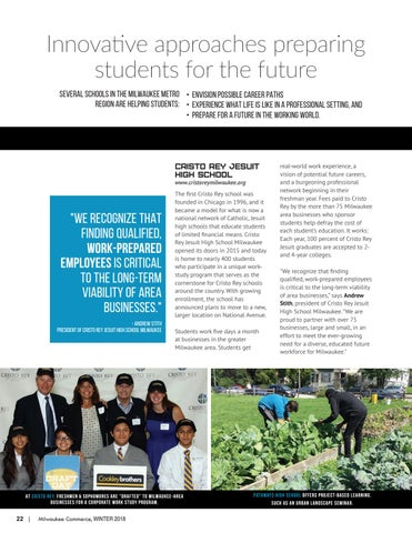 Page 22 of Innovative approaches preparing  students for the future