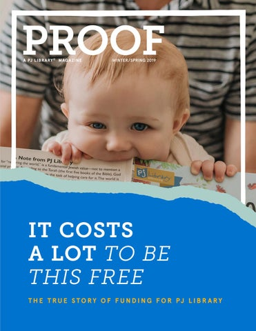 PROOF | A PJ Library Magazine | Winter/Spring 2019 by Harold