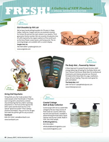 Page 50 of FRESH! A Galleria of NEW Products