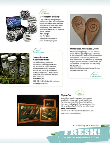 Page 51 of FRESH! A Galleria of NEW Products
