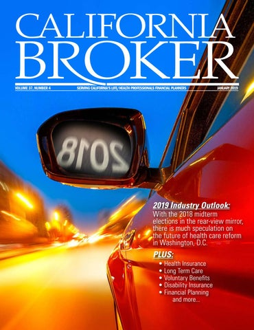 Page 1 of California Broker Magazine