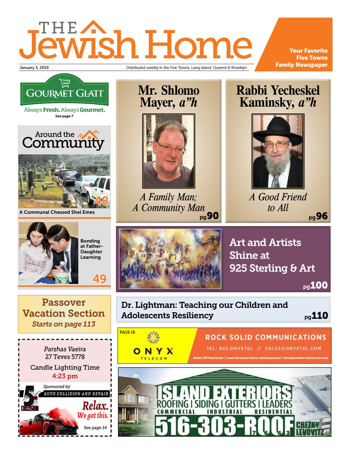 Five Towns Jewish Home - 1-3-19 by Yitzy Halpern - issuu