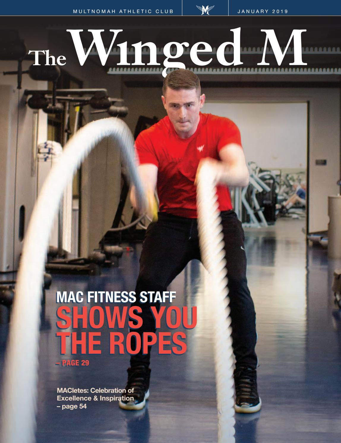 The Winged M, January 2019 by Multnomah Athletic Club - issuu