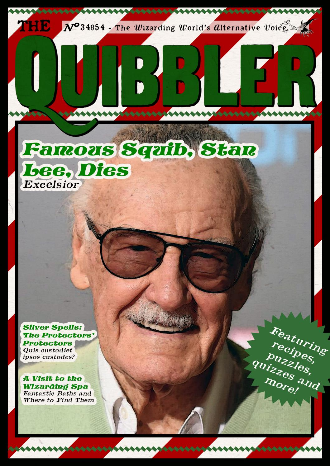 The Quibbler Winter 2019 by Hogwarts Quibbler - issuu