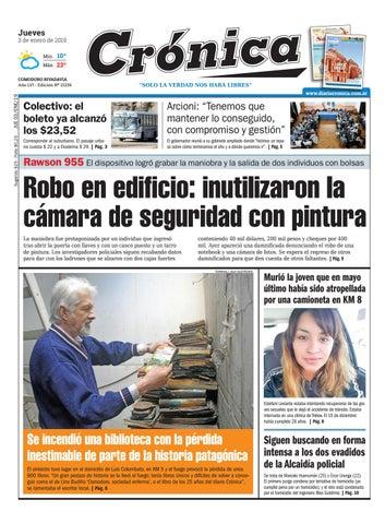 f091fab4 Diario cronica 03 01 2019 by Diario Crónica - issuu
