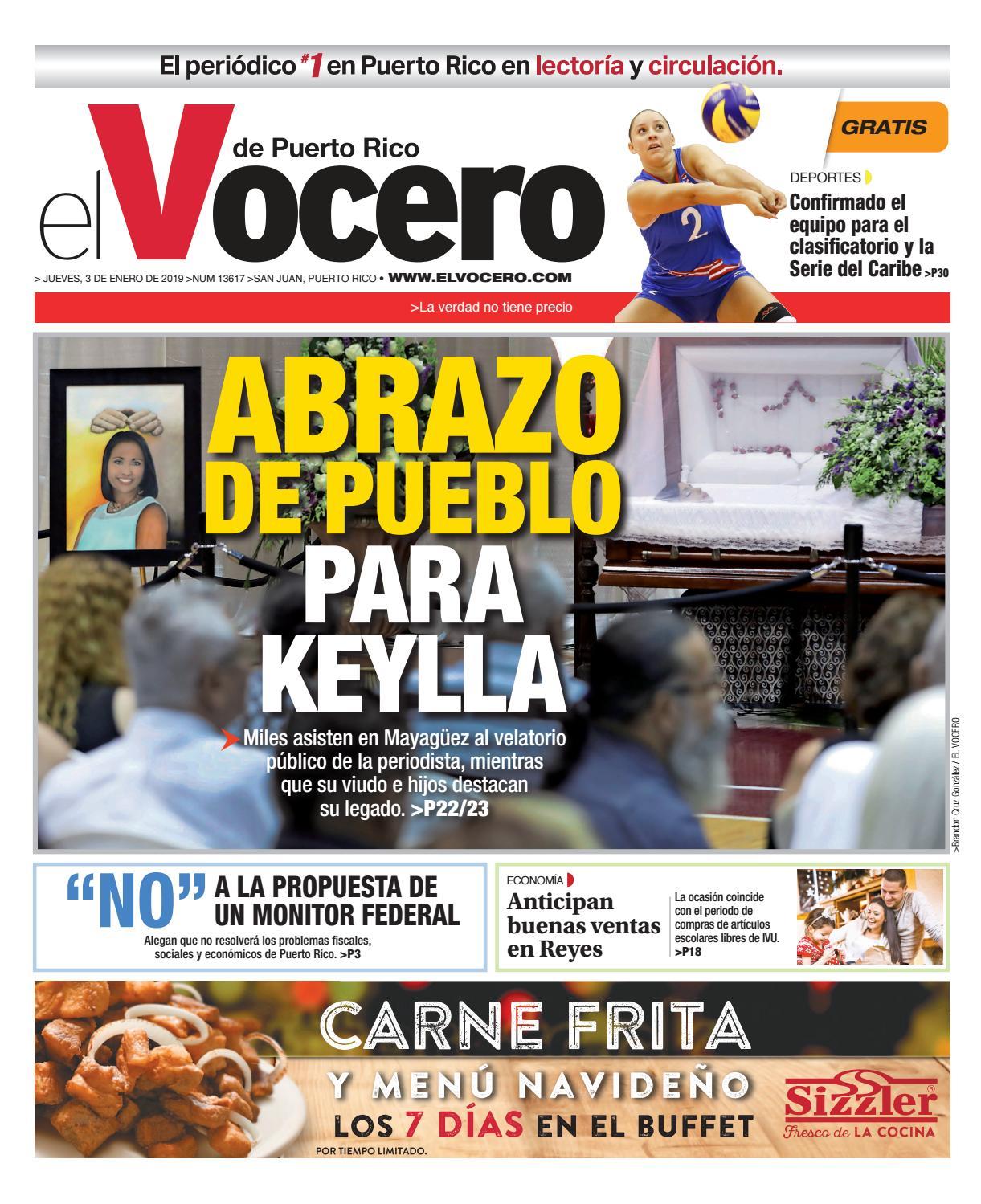 89d01745c Edición del 3 de enero de 2019 by El Vocero de Puerto Rico - issuu