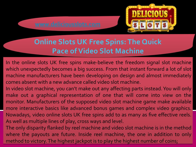 Free Slot Machine Uk