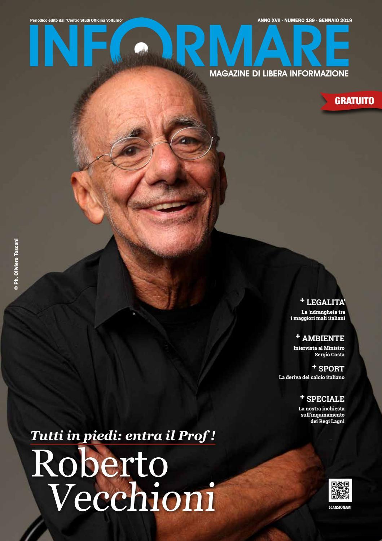 1481acdc46cf Roberto Vecchioni - Tutti in piedi  entra il Prof! by Magazine Informare -  issuu