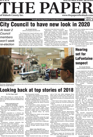 2 January issue by The Paper of Wabash County - issuu