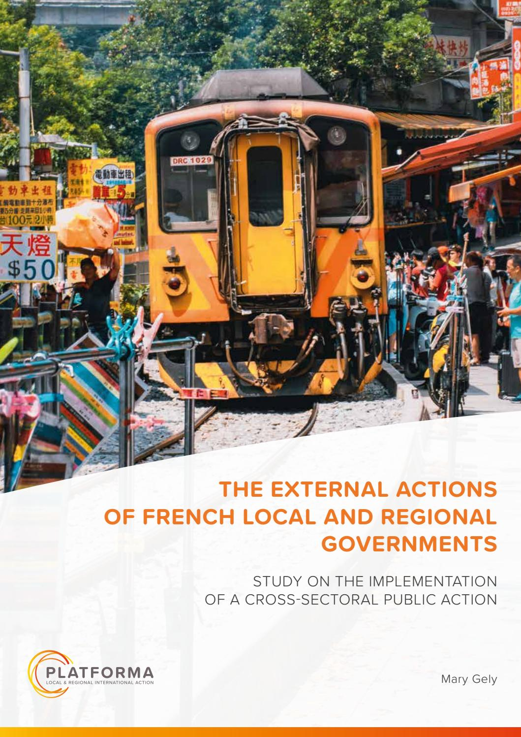 high quality wholesale online new authentic The external actions of French local and regional ...
