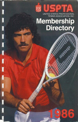 Uspta Membership Directory 1986 By Uspta Issuu