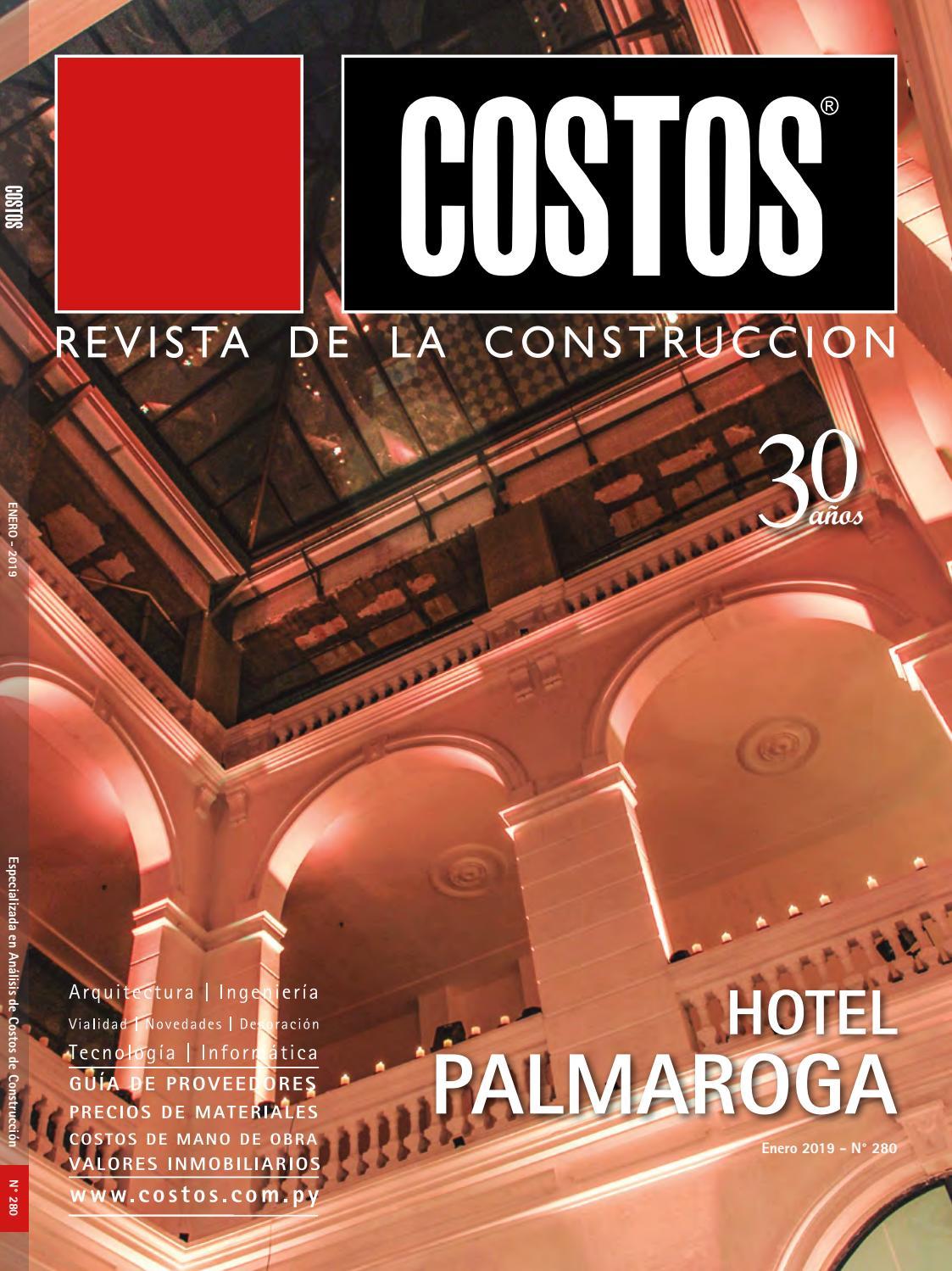 gaviones decorativos para el jard n asador y parrilla Edición #280 - Enero 2019 by Revista Costos (Paraguay) - issuu