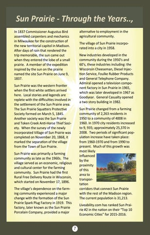 Page 7 of Sun Prairie Through the Years