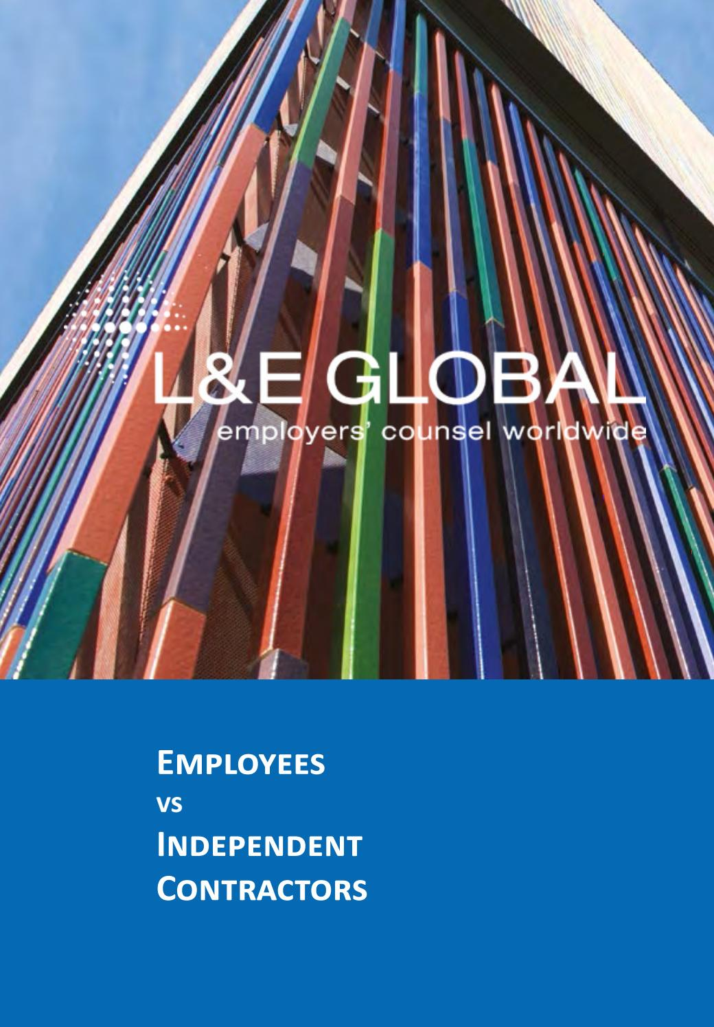 Annual Publication 2014: Employees vs Independent