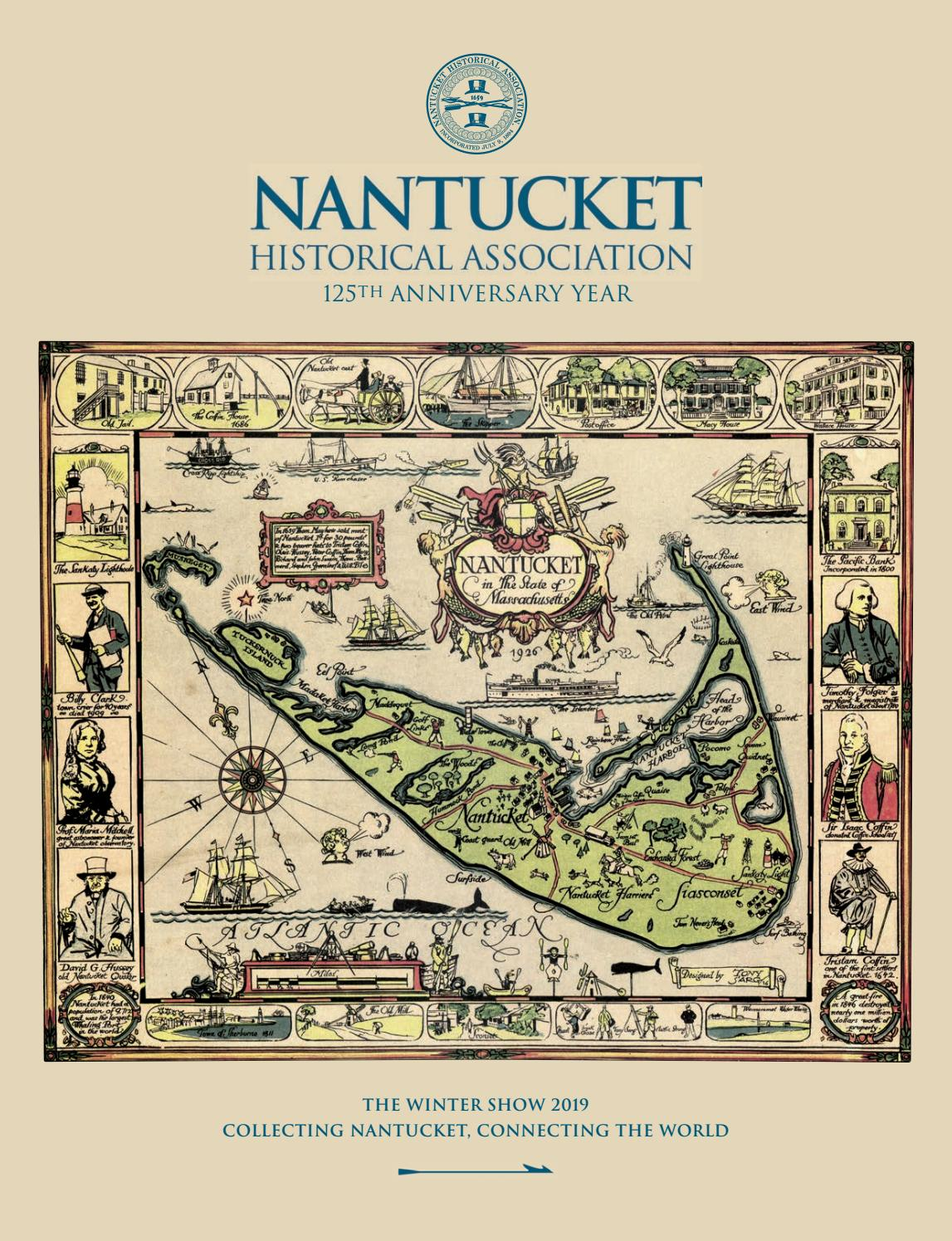 THE WINTER SHOW 2019 COLLECTING NANTUCKET, CONNECTING THE