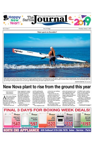 Sarnia Journal - Jan  3, 2019 by The Sarnia Journal - issuu
