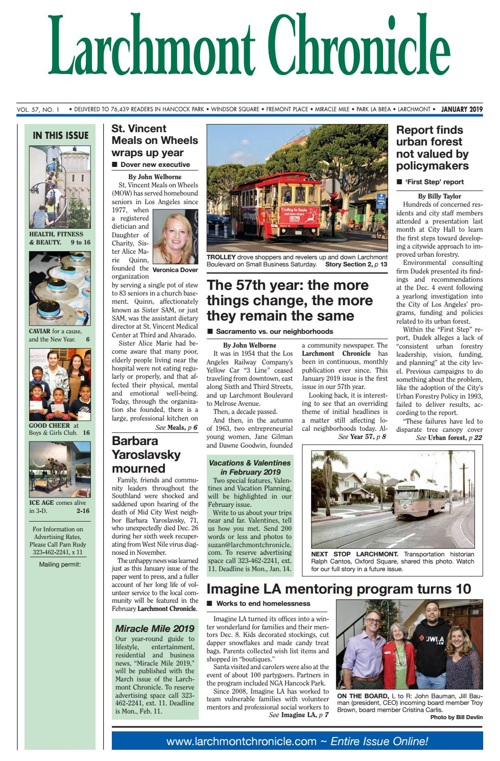 Lc 01 2019 By Larchmont Chronicle Issuu