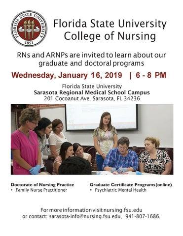 2019 Fsu College Of Nursing Graduate Program Information Session By