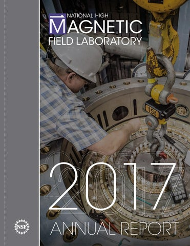 c4ce3dcc85 2017 Annual Report for the National High Magnetic Field Laboratory ...