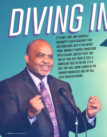 Page 6 of Diving In: Alton B. Pollard III's First Months on Campus