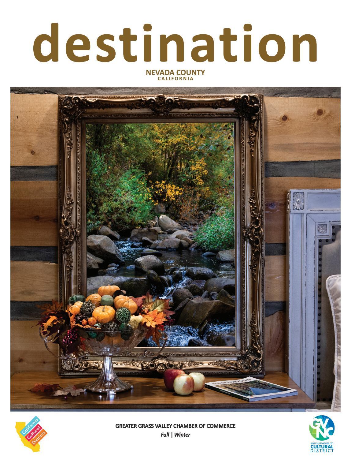 2019 Destination Nevada County Winter Magazine By Grassvalleychamber Issuu