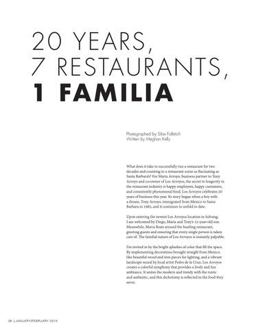 Page 28 of 20 Years, 7 Restaurants, 1 Familia