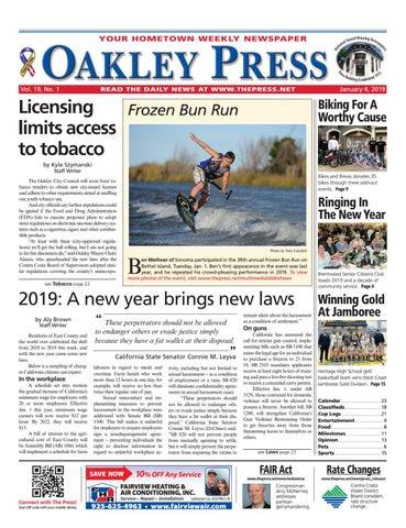 Oakley Press 01 04 19 by Brentwood Press & Publishing - issuu