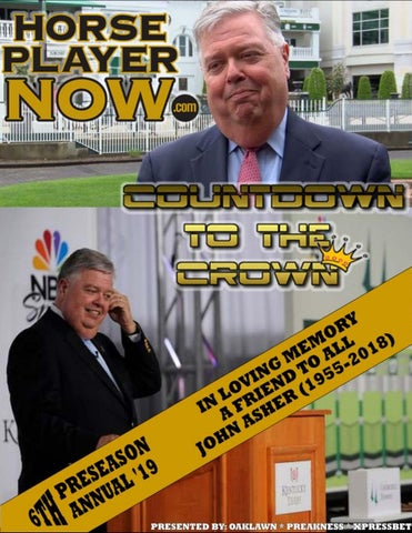 2019 Countdown to Crown Preseason Annual by Horse Player NOW - issuu