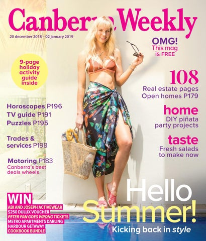 871673cbdc 20 December 2018 by Canberra Weekly Magazine - issuu