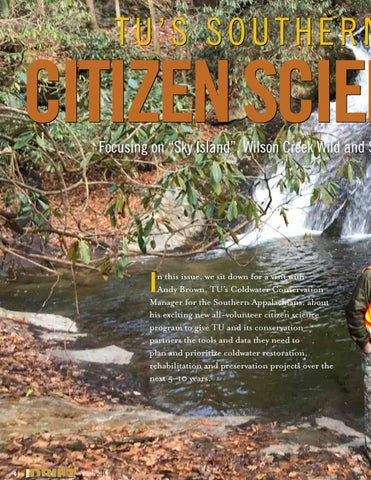 Page 4 of The Southern Appalachian Citizen Science Project