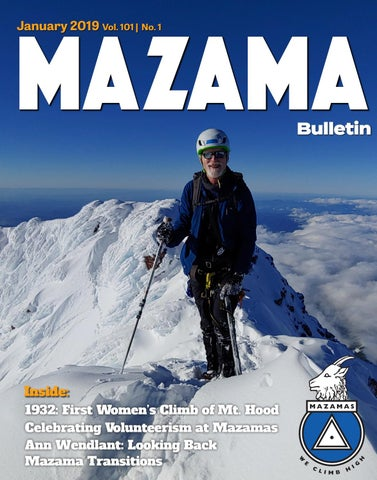 8be8d92db28 January 2019 Mazama Magazine by Mazamas - issuu