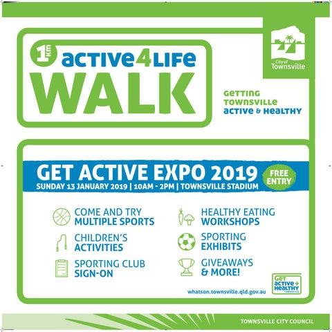 Get Active Expo 2019 - Active Hero Brochure by Townsville City