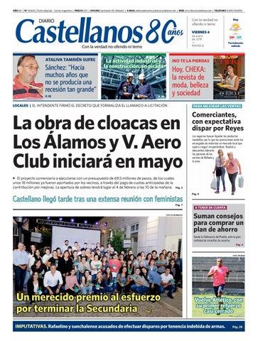 Diario Castellanos 04 01 19 by Diario Castellanos - issuu fafc5f82cd8a7
