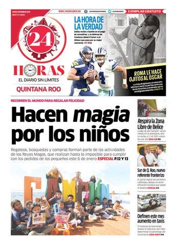 e73a36c2682f37 24 HORAS QUINTANA ROO/ 04 DE ENERO 2019 by 24 Horas Quintana Roo - issuu