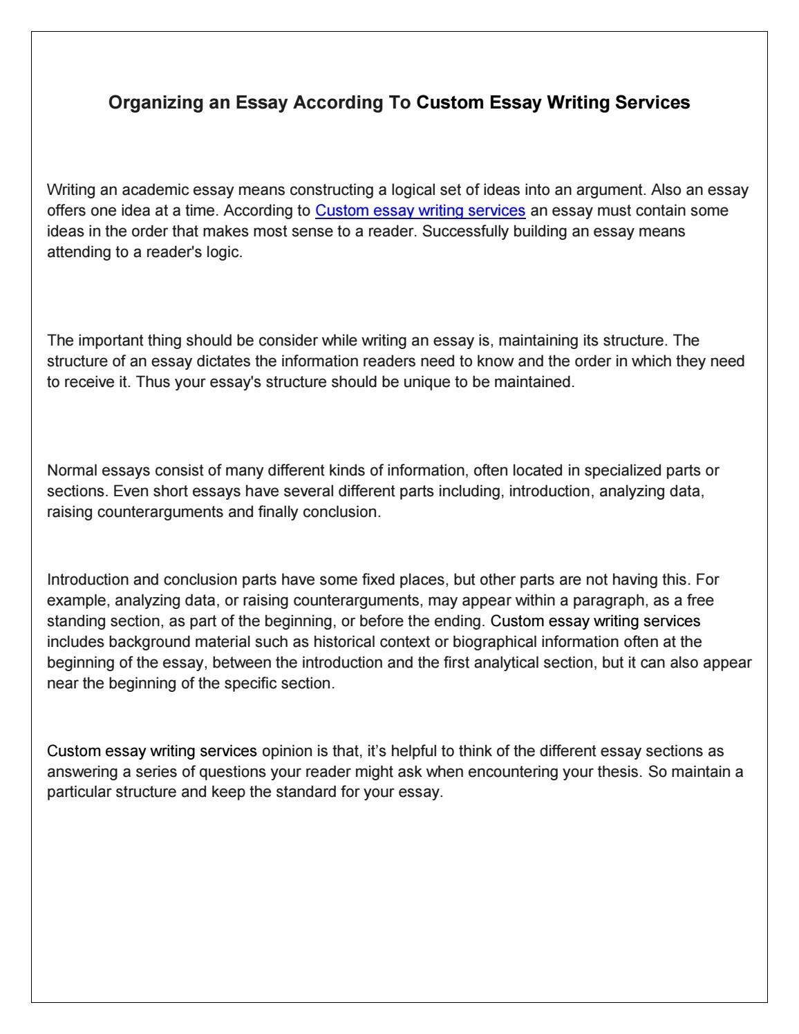 questions ask before writing academic essay