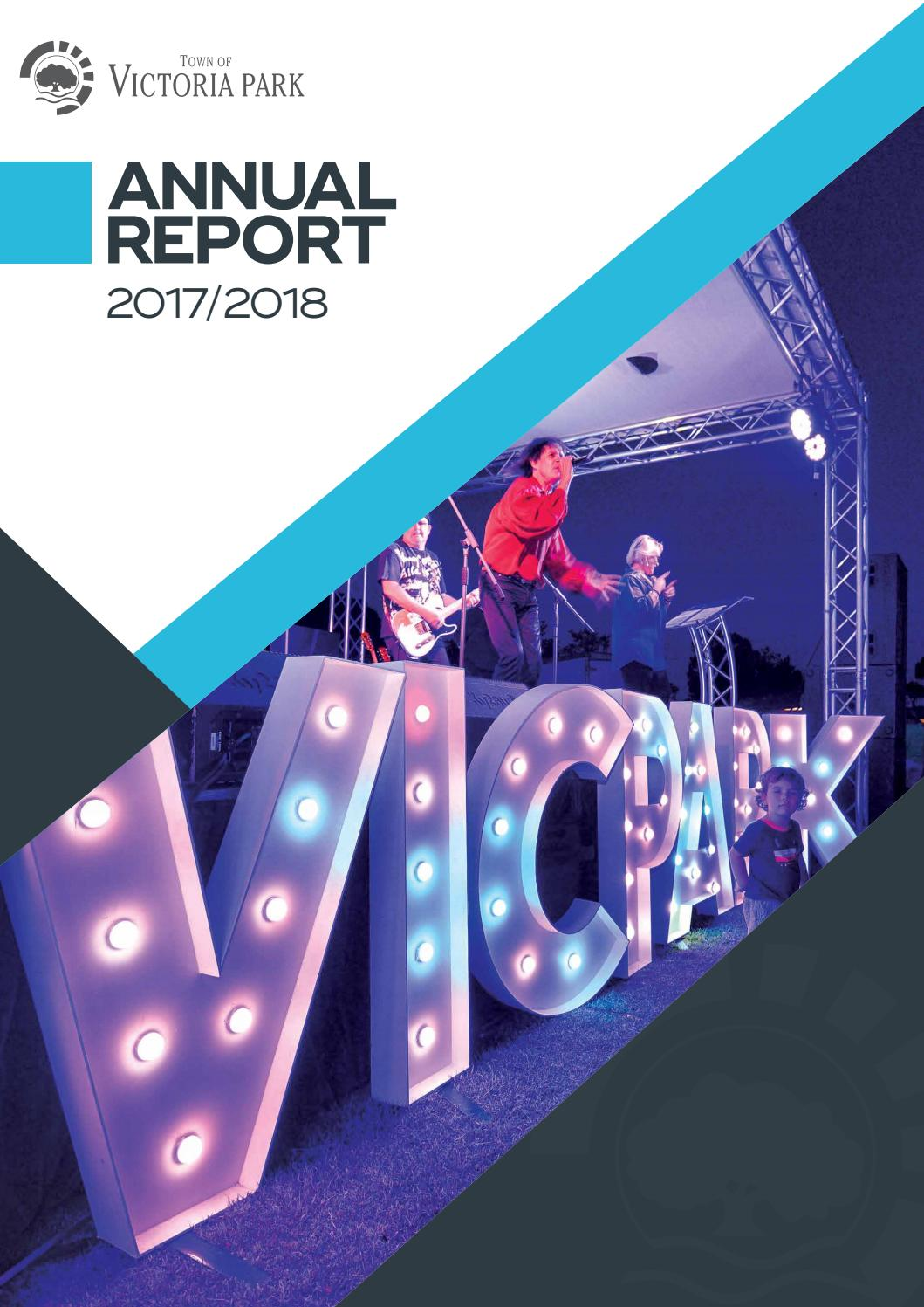 Annual Report 2017-18 by Town of Victoria Park - issuu