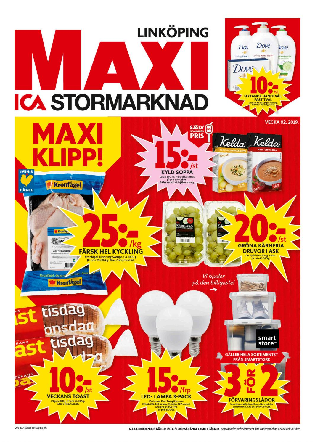 ica home sortiment