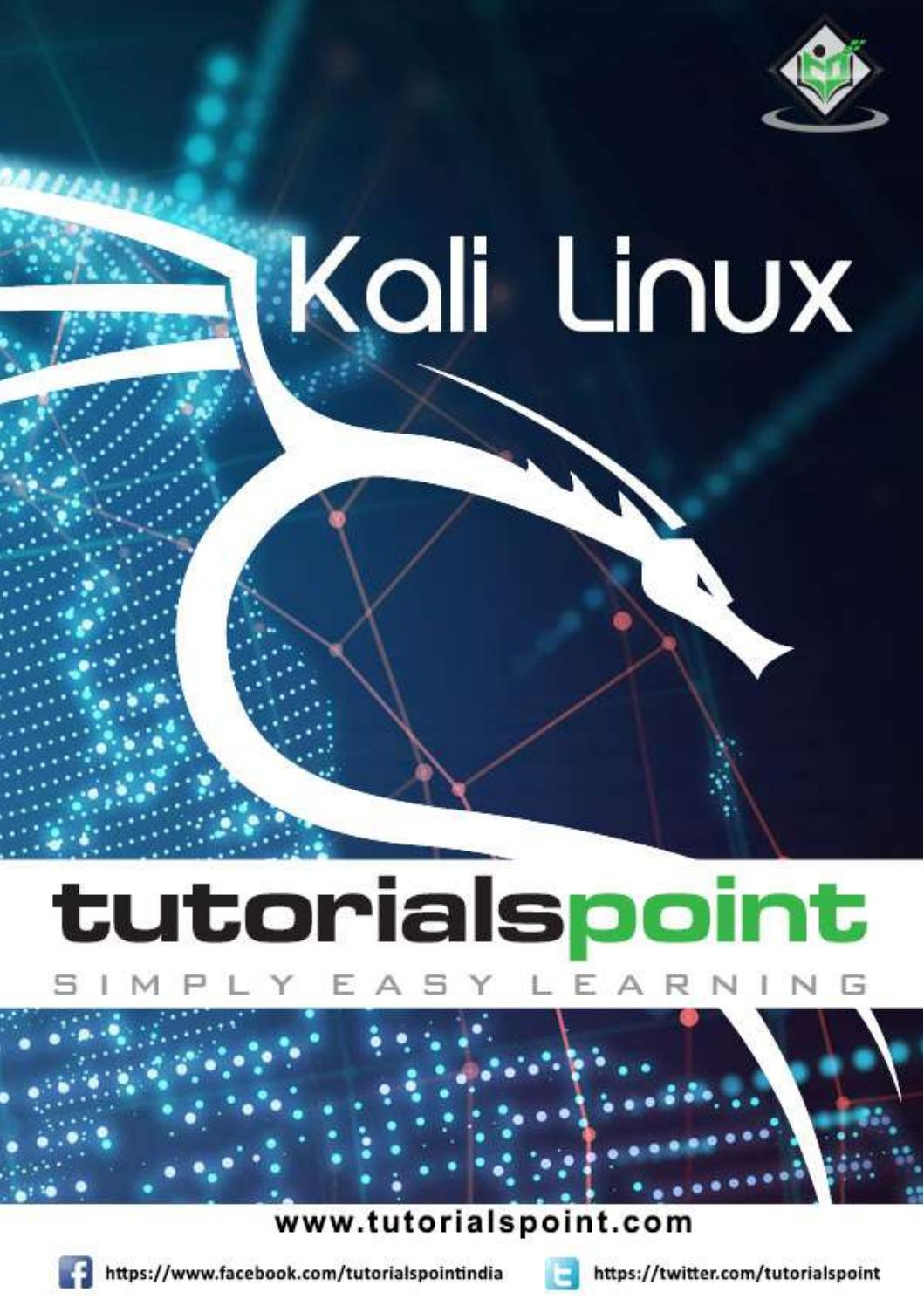 Kali Linux Tutorial by swathi sree - issuu