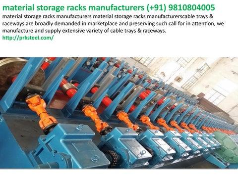 Fifo racks manufacturers system in india +919810804005 by