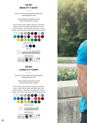 Page 14 of Neutral® Short Sleeve T-shirts