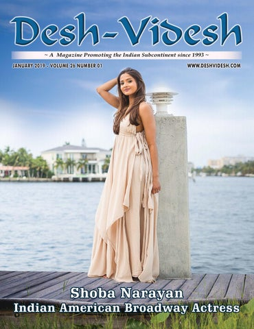 Desh-Videsh -- Indian American Actress Shoba Narayan Leads the Way