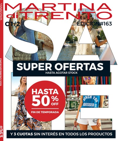 245db242 CATALOGO MUJER 1-2 2019 ARG by Martina di Trento - issuu