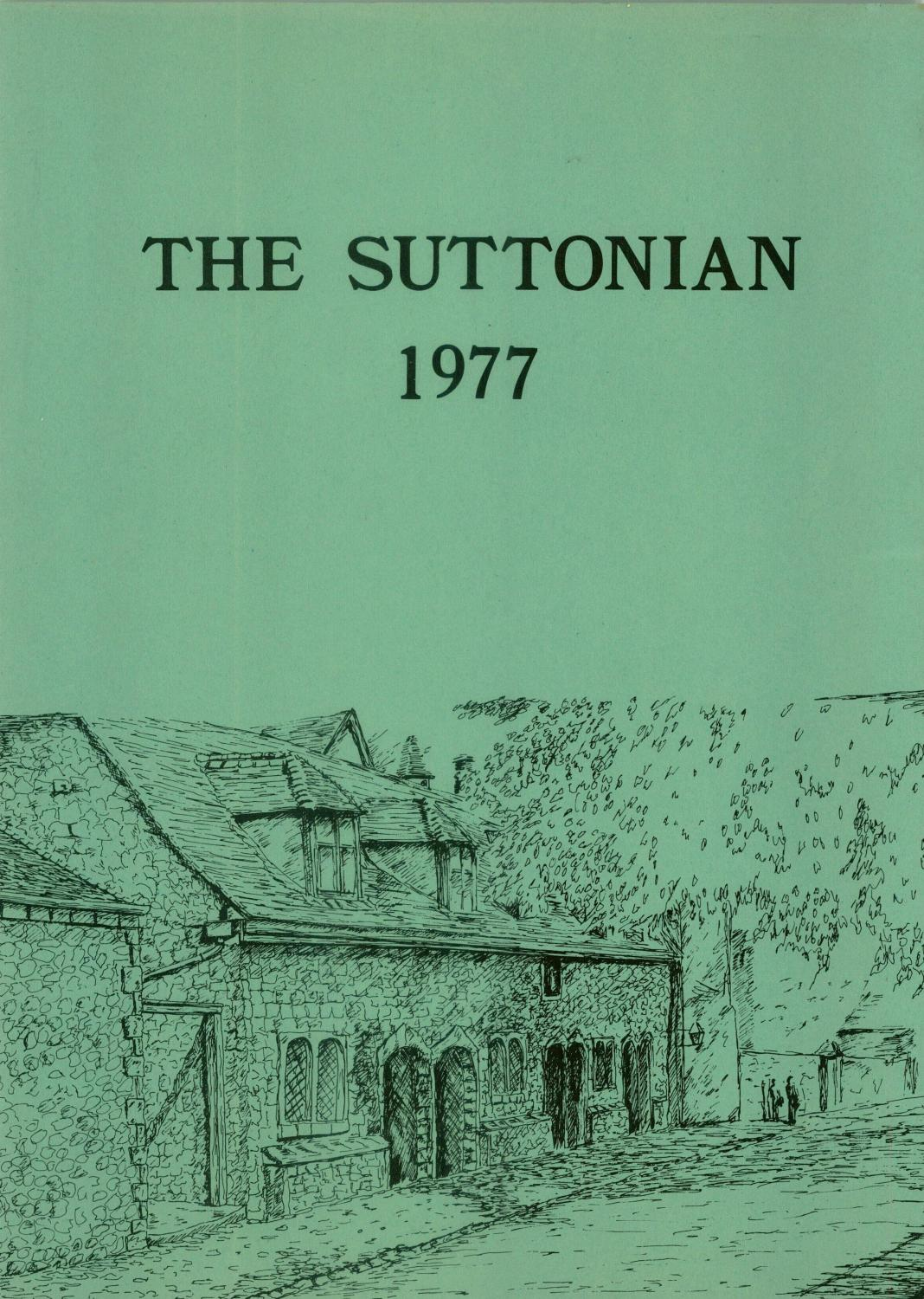 1c3a0fb7e41 The Suttonian 1977 by Sutton Valence School - issuu